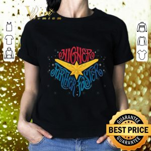 Pretty Marvel Captain Higher Further Faster Star Avengers Endgame shirt