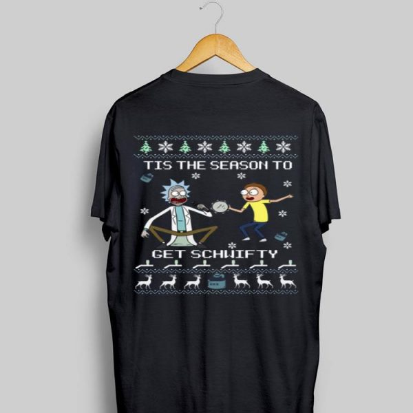 Rick & Morty Tis The Season To Get Schwifty Christmas sweater