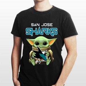 San Jose Sharks baby Yoda shirt