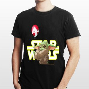 Star Wars Baby Yoda Hand Holding Balloon Mickey Mouse sweater