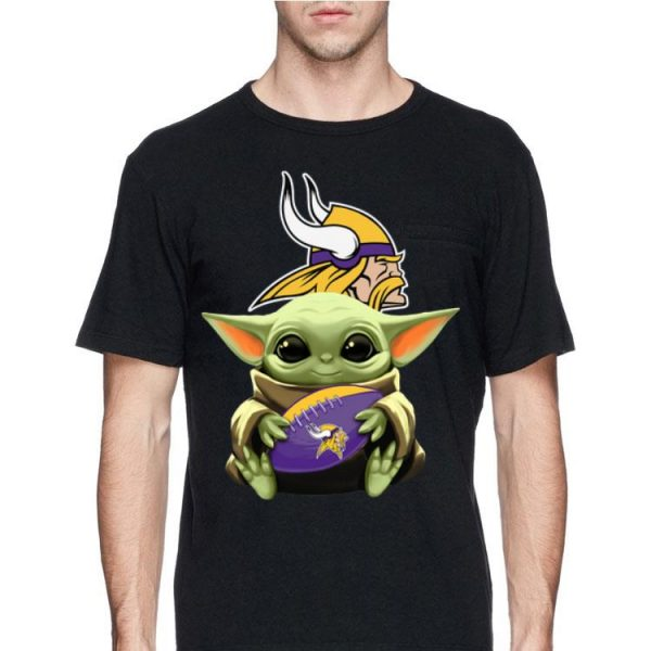 Star Wars Baby Yoda Hug Vikings shirt
