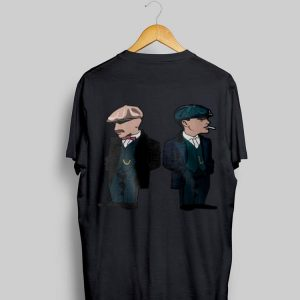 Thomas Shelby Curly Peaky Blinders shirt