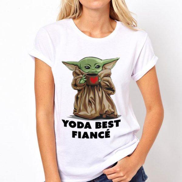 Baby Yoda Best Fiance shirt