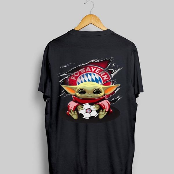Baby Yoda Blood Inside Bayern München shirt