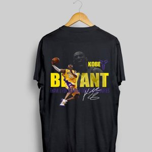 Kobe Bryant Los Angeles Lakers Thank You For So Many Memories Signature shirt
