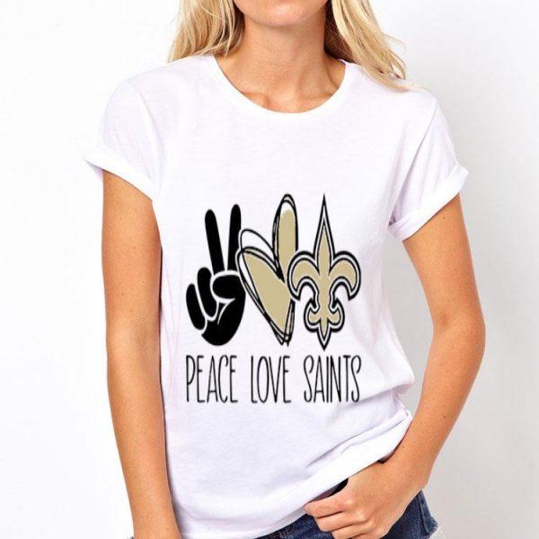 Peace Love New Orleans Saints shirt