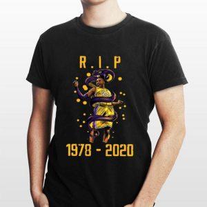 Rip Kobe Bryant 1978 2020 Los Angeles Lakers shirt