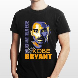 Rip Kobe Bryant Thank You For So Many Thrilling Memories Signature shirt