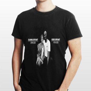 Rip Kobe Bryant and Daughter Gianna Bryant shirt