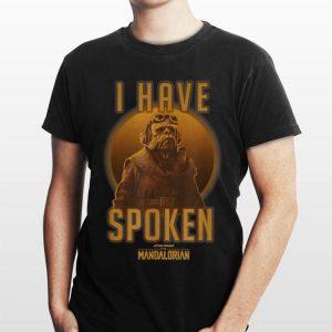 Star Wars The Mandalorian Kuiil I Have Spoken shirt