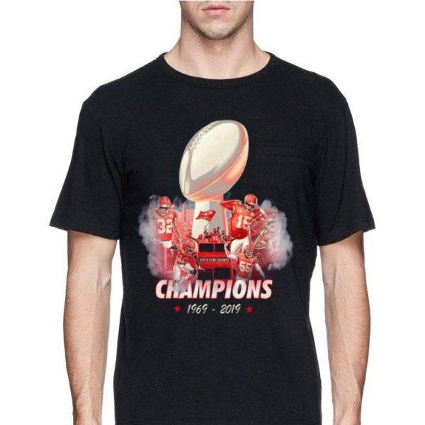 50 Years Kansas City Chiefs Champions 1969 – 2019 shirt