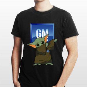 Baby Yoda Dabbing General Motors shirt