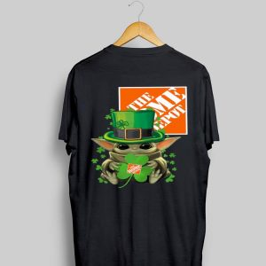 Baby Yoda The Home Depot Shamrock St. Patrick's Day shirt