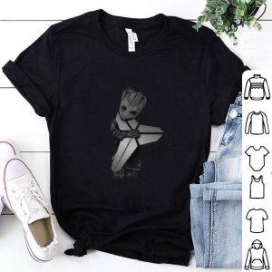 Best Baby Groot Hug Kobe Bryant Logo Symbol Star Wars shirt
