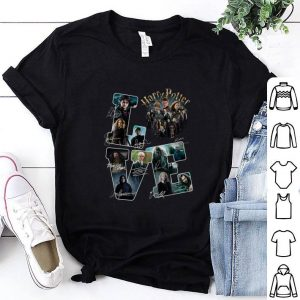 Best Love Harry Potter all character signatures shirt