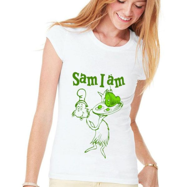 Dr Seuss Sam I Am Green Eggs And Ham shirt