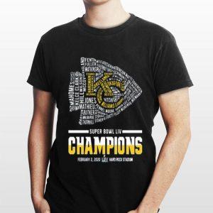 Kansas City Chiefs Logo Super Bowl Liv Champions shirt