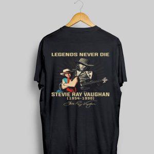 Legends Never Die Stevie Ray Vaughan 1954 1990 Signature shirt