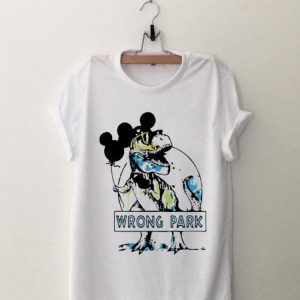 Mickey Mouse Dinosaur Wrong Park shirt