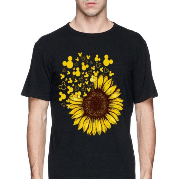 Mickey Mouse Sunflowers shirt
