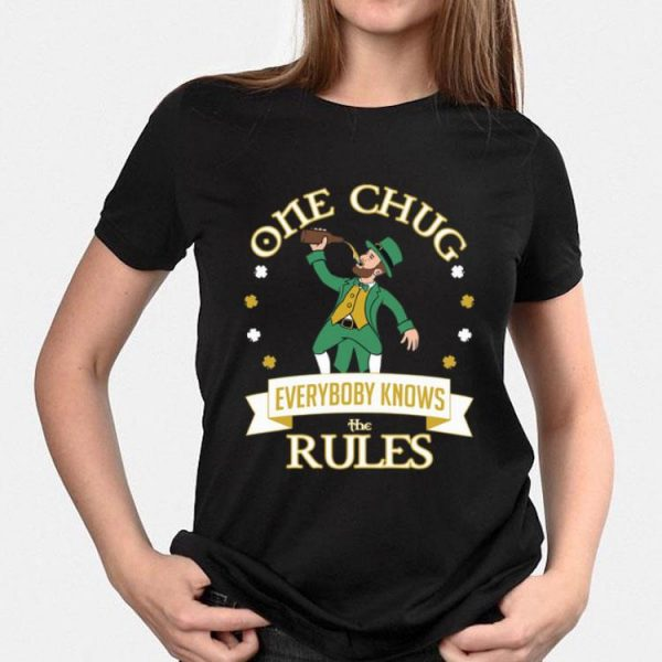 One Chug Leprechaun 2020 shirt