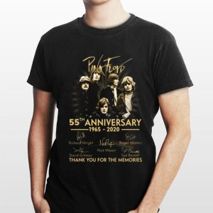 Pink Floyd 55th anniversary thank you for the memories signature shirt