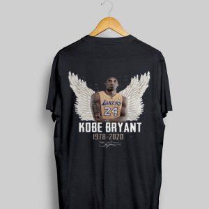 Rip Kobe Bryant 1978 2020 signature wings haven shirt