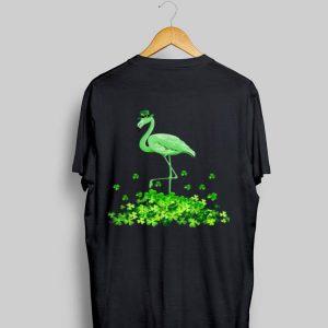 Shamrock Irish Flamingo shirt