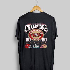 Super Bowl Champions San Francisco 49ers 2020 shirt
