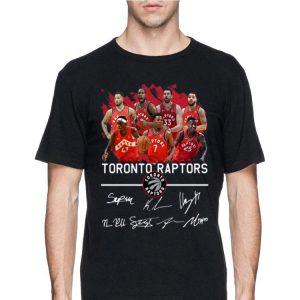 Toronto Raptors Players Signatures shirt