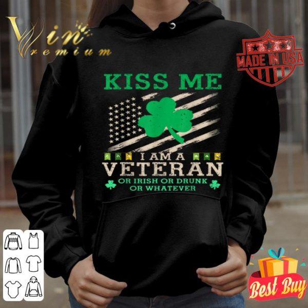 USA Funny Veteran St Patricks Day shirt