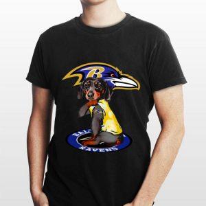 Dachshund Baltimore Ravens shirt