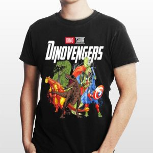 Dinosaur Dinovengers Marvel Avengers Endgame swaeter