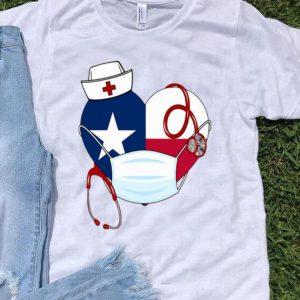 Texas Heart Mask Nurse Protection shirt