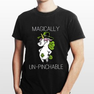 Unicorn St Patrick's Day Magically Unpinchable shirt