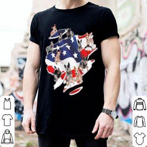 Dog Lovers Heeler American Flag shirt