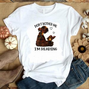 Official Library Girl Don't Bother Me I'm Reading shirt