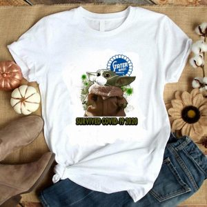 Original Baby Yoda Stater Bros Markets Survived Covid 19 2020 shirt