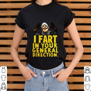 Monty Python I fart in your general direction shirt 2