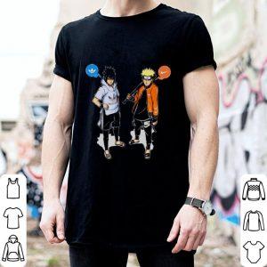 Naruto Nike With Sasuke Adidas shirt