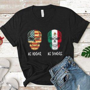 Skull America Mi Hogar Mi Sangre skull Italia shirt