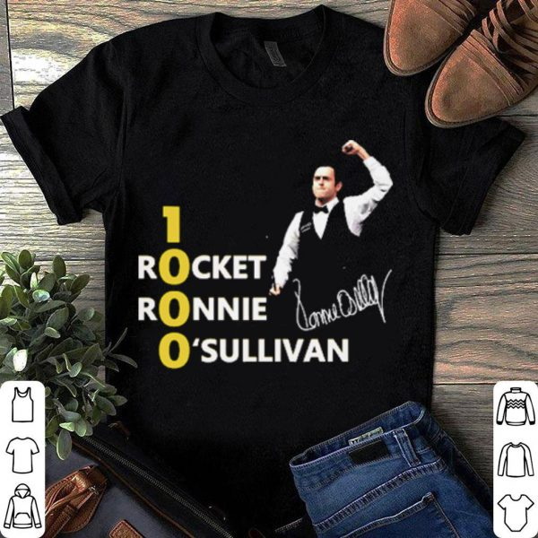 1000 Rocket Ronnie O_Sullivan shirt