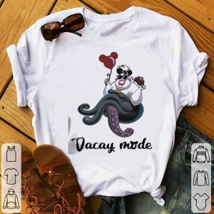 Cruella de Vil vacay mode balloon Mickey mouse shirt