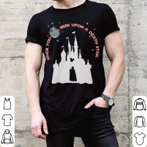 Disney star wars when you wish upon a death star shirt