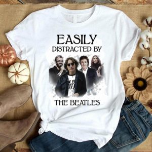 Easily distracted by the Beatles shirt