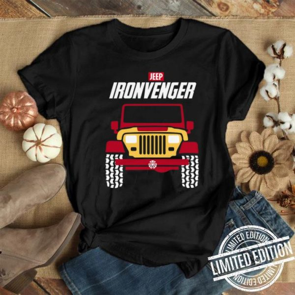 Iron man Marvel Avengers Endgame Jeep Ironvengers shirt
