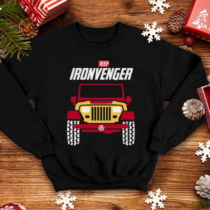 Iron man Marvel Avengers Endgame Jeep Ironvengers shirt 4 - Iron man Marvel Avengers Endgame Jeep Ironvengers shirt