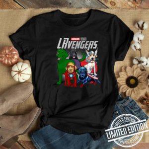 Labrador Retriever LRvengers Marvel Avengers Endgame shirt