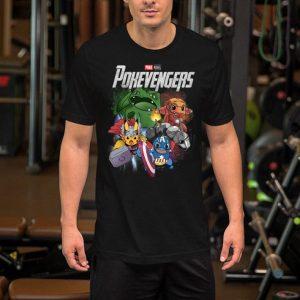 Marvel Avengers Endgame Poke Monvel Pokevengers shirt
