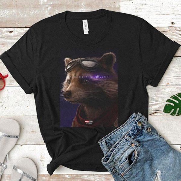 Marvel Avengers Endgame Rocket Raccoon Avenge the fallen shirt